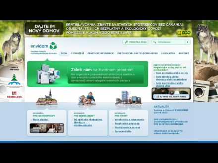 www.envidom.sk
