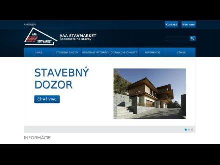 www.aaastavmarket.sk
