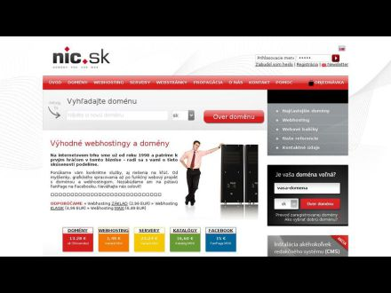 www.nic.sk