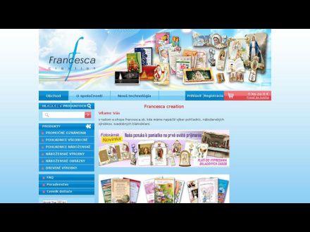 www.francesca.sk