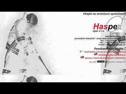 www.haspex.sk