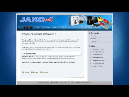 www.jakonet.sk
