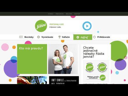 www.jemnemelodie.sk