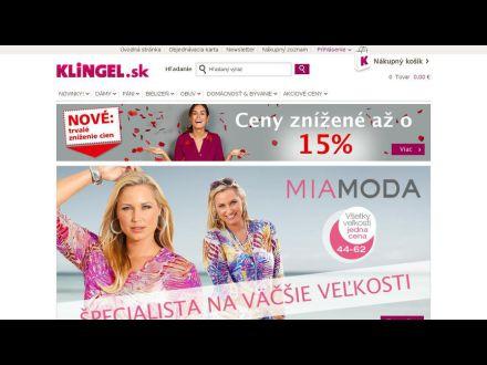 www.klingel.sk