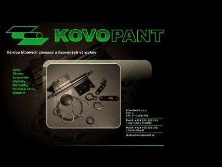 www.kovopant.sk