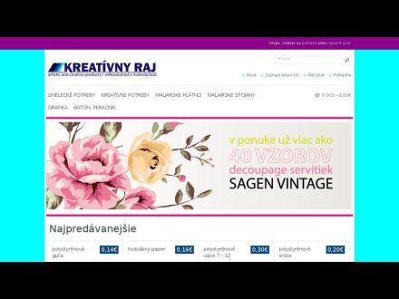 www.kreativnyraj.sk