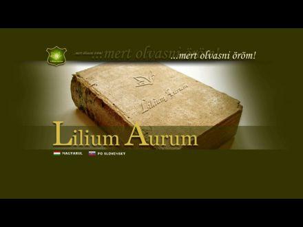 www.liliumaurum.sk
