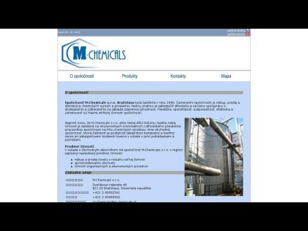 www.m-chemicals.sk