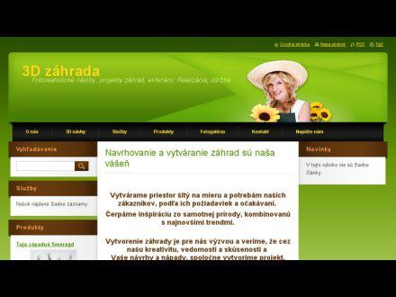 www.3dzahrada.webnode.sk