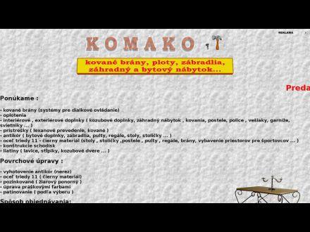 www.komako.szm.sk