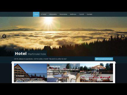 www.hotelmartinskehole.sk