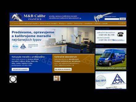 www.mbcalibr.sk