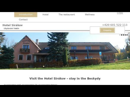 www.hotel-sirakov.cz