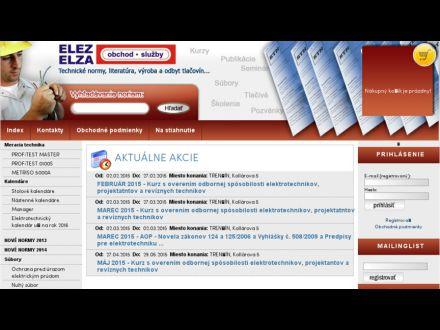 www.elez.sk
