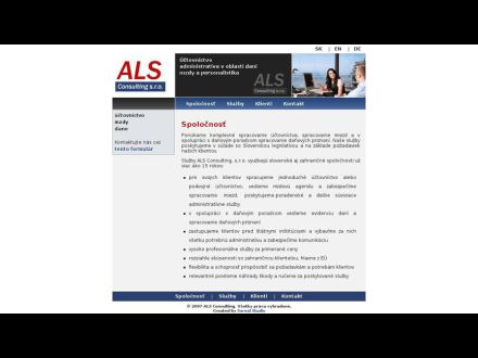 www.alsconsulting.sk