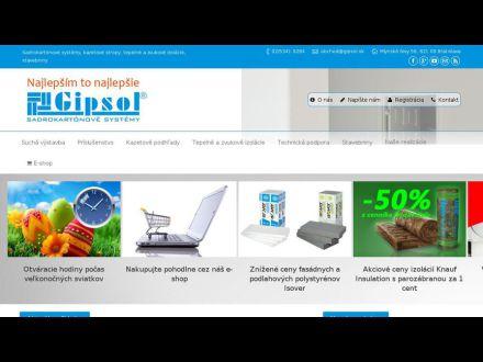 www.gipsol.sk