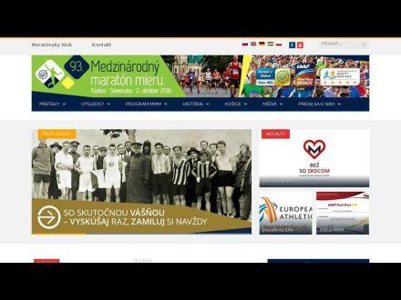 www.kosicemarathon.com