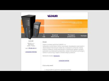 www.vadium.sk
