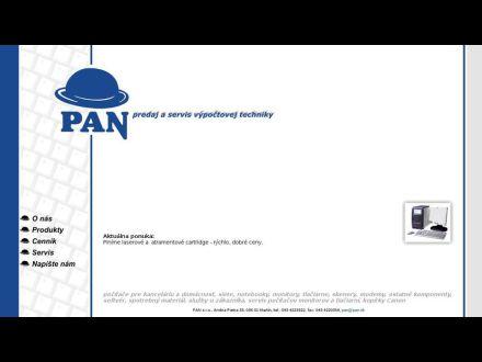www.pan.sk