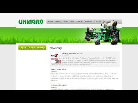 www.uniagro.sk