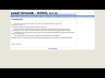 www.hrivnak-kovo.sk