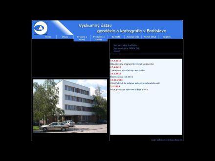 www.vugk.sk