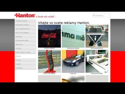www.hanton.sk