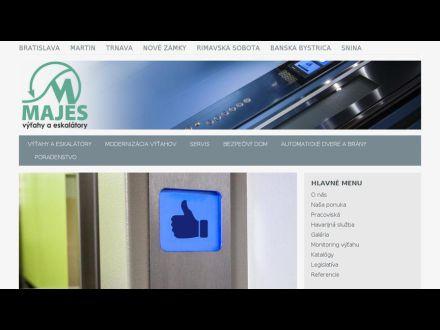 www.majes.sk