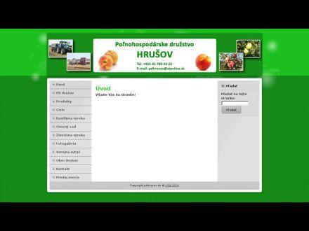 www.pdhrusov.sk