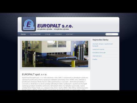 www.europalt.sk