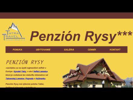 www.penzionrysy.sk
