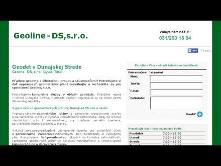 www.geodezia-dunajskastreda.sk