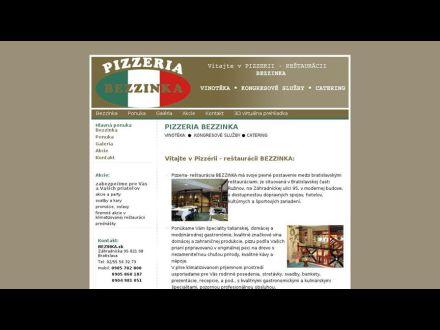 www.pizzeriabezzinka.sk