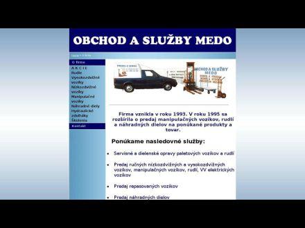 www.medo.sk