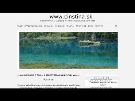 www.cinstina.sk