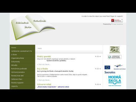 www.zsrohoznik.sk