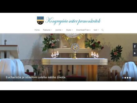 www.premonstratky.sk