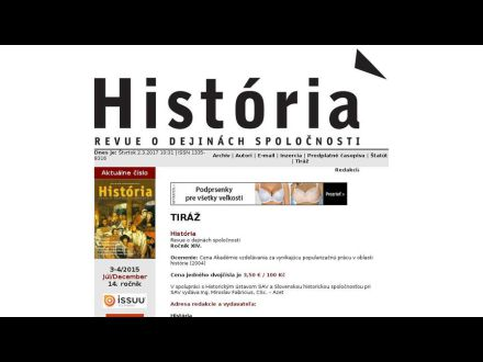 www.historiarevue.sk