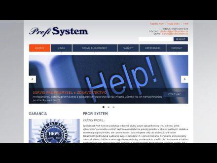 www.profisystem.sk