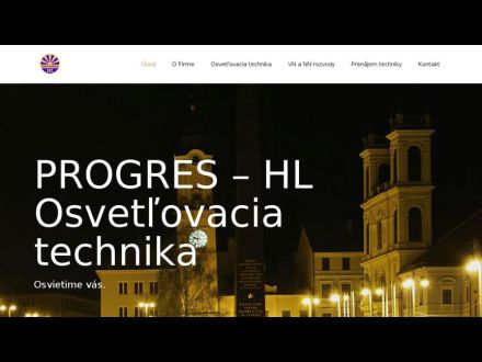 www.progres-hl.sk