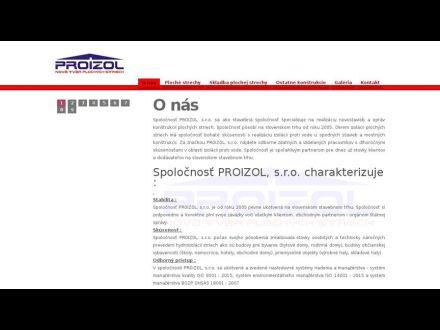 f48323fdc PROIZOL, s.r.o., 957 03 Bánovce nad Bebravou, 038 / 760 25...