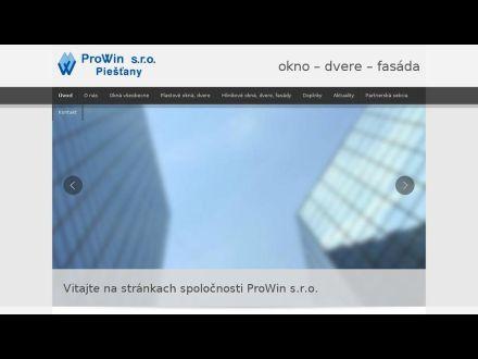 www.prowin.sk