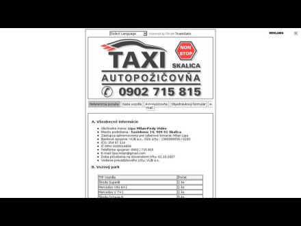 www.taxiskalica.szm.sk