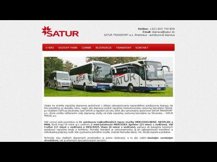 www.saturtransport.sk