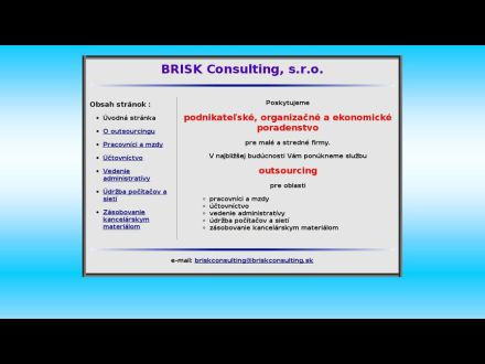 www.briskconsulting.sk