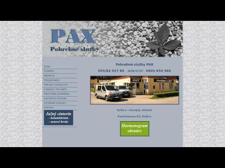 www.pax.sk