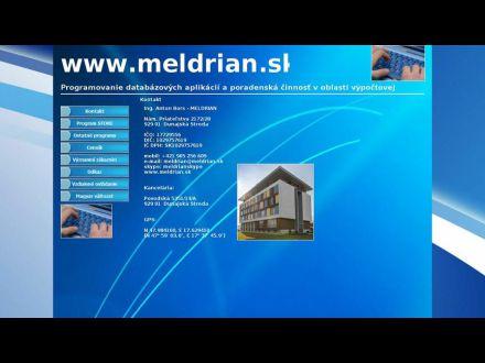 www.meldrian.sk