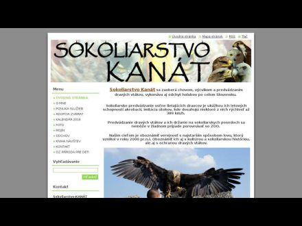 www.sokoliarstvo-kanat.sk