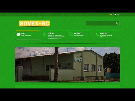 www.sovexbc.sk