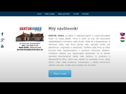 www.bertokvideo.sk